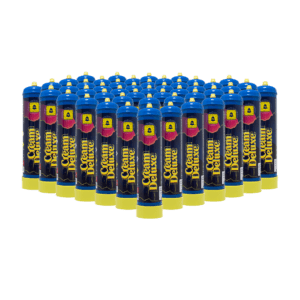 Cream Deluxe Nitrous Oxide Cylinder 615g 48 Pieces